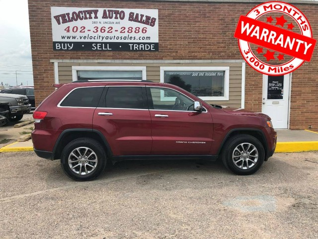 2014 Jeep Grand Cherokee Limited Leather Low Miles 3 Month 3000