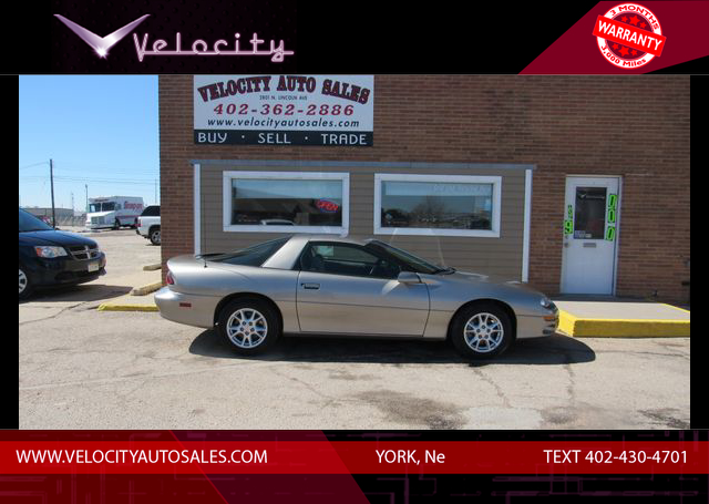 Used 2002 Chevrolet Camaro Coupe 2D