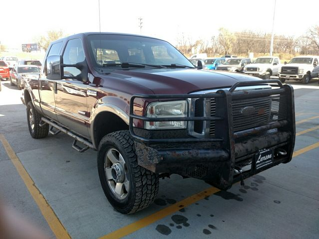 Used 2006 FORD F250 SUPER DUTY Lariat Pickup 4D 6 3/4 ft