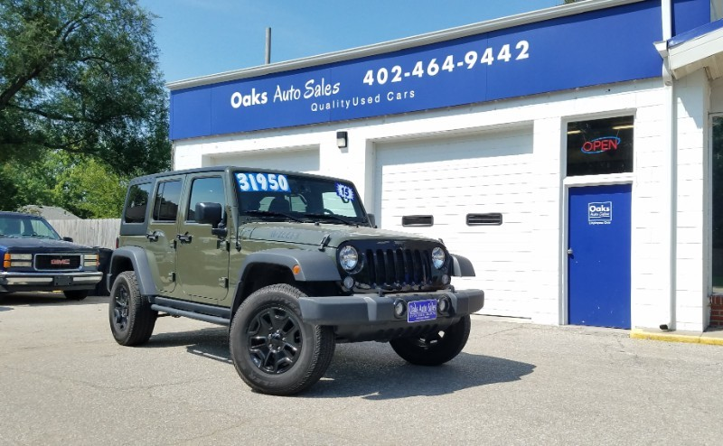 Used 2015 Jeep Wrangler Unlimited Willys Wheeler