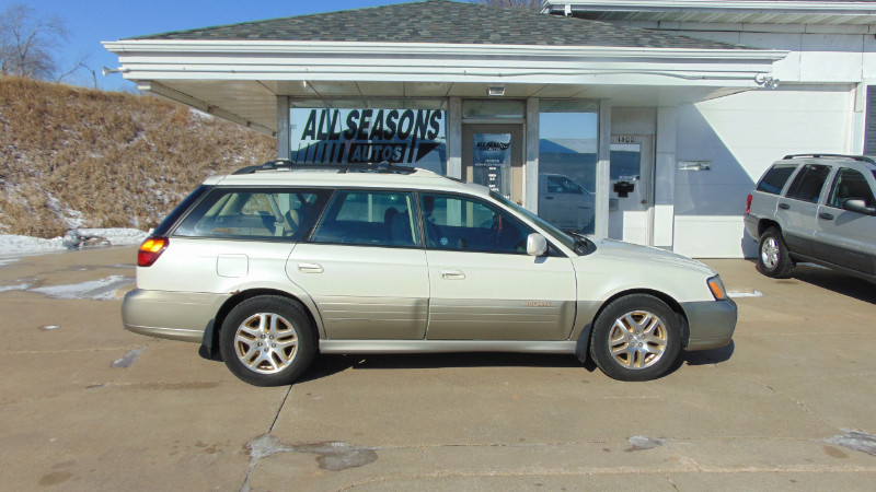 Used 2002 Subaru Legacy Wagon Outback Ltd