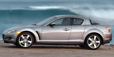 2006 Mazda RX-8 4dr Cpe Auto automatic transmisson,leather,sunroof,a true 4 door sportscar.fun to drive.red