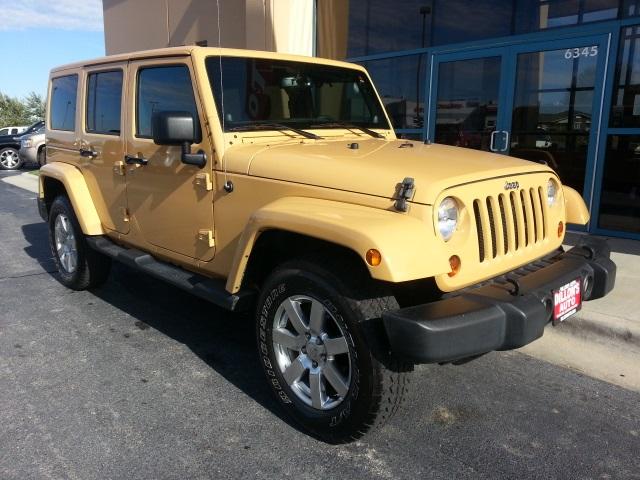 Used 2013 Jeep Wrangler Unlimited Sahara