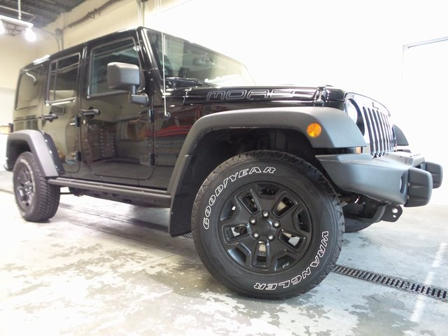 Used 2013 Jeep Wrangler Unlimited Sahara MOAB Edition