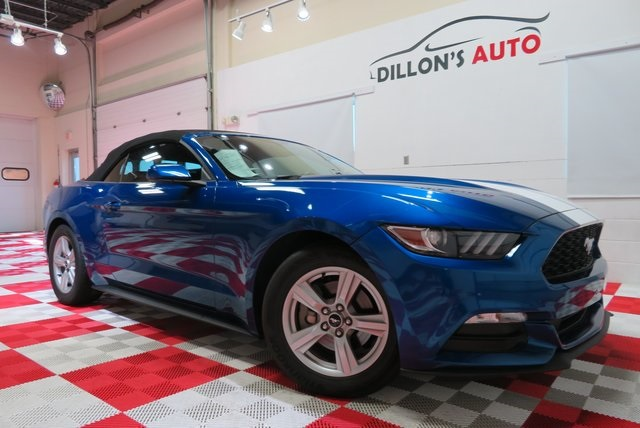 Used 2017 Ford Mustang V6