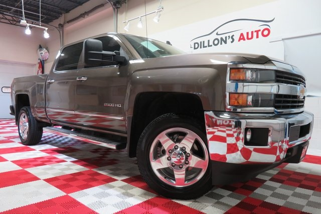 Used 2015 Chevrolet Silverado 2500HD LTZ