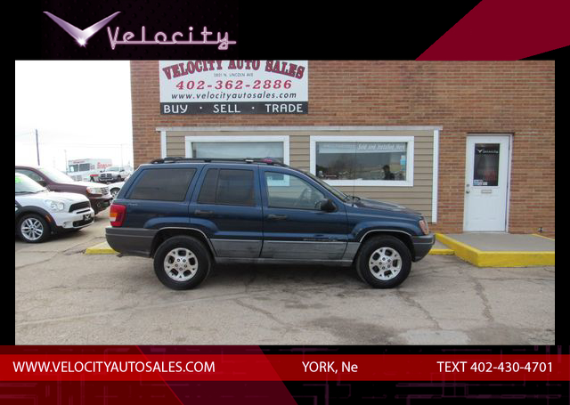 Used 2000 Jeep Grand Cherokee Laredo Sport Utility 4D