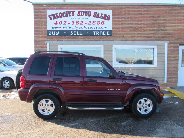 Used 2002 Jeep Liberty 4dr Limited 4WD