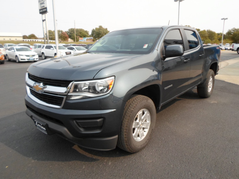 Used 2019 Chevrolet Colorado 4WD Work Truck