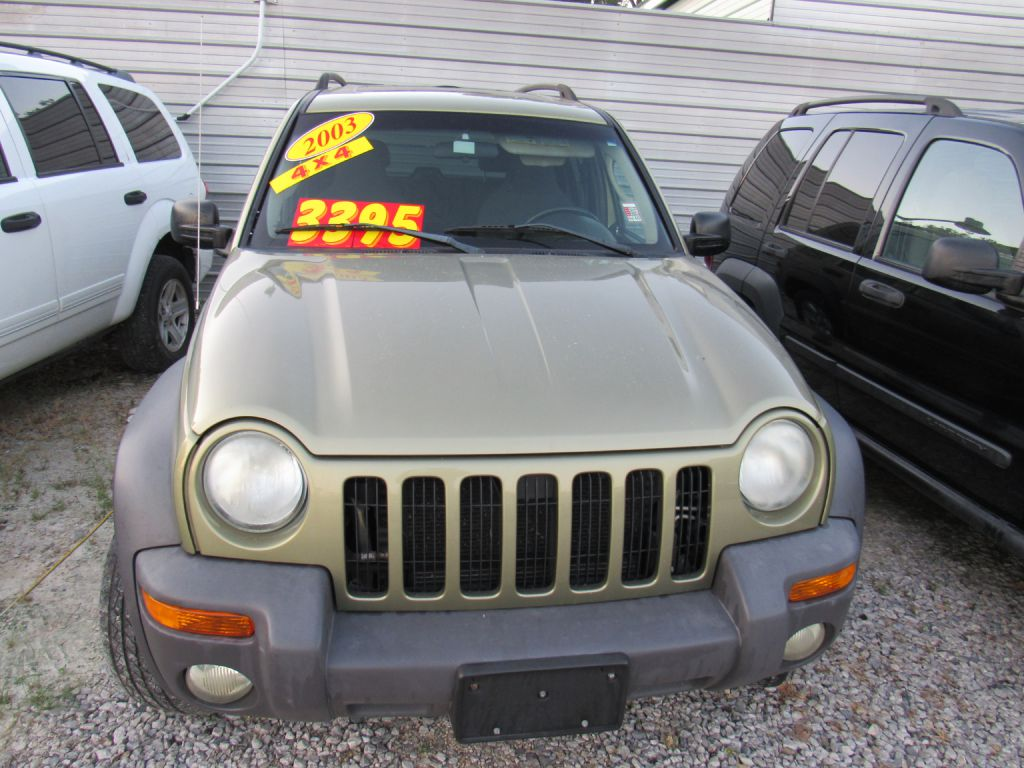 2003 Jeep Liberty Sport >> 2003 Jeep Liberty Sport Suv Kansas City Mo Adams