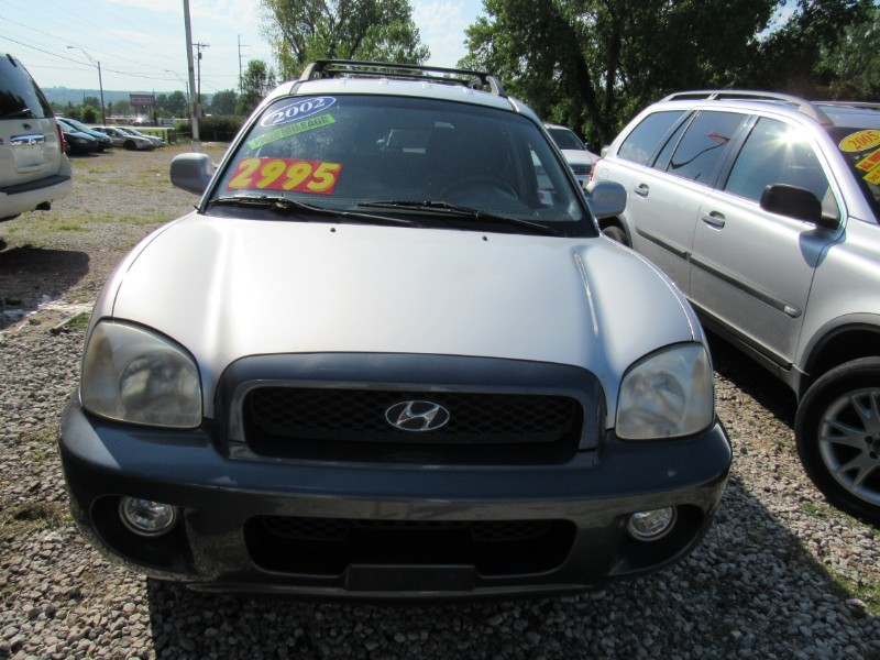 Used 2002 Hyundai SANTA FE GLS