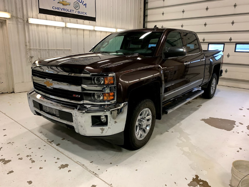 Used 2016 Chevrolet Silverado 2500HD LTZ