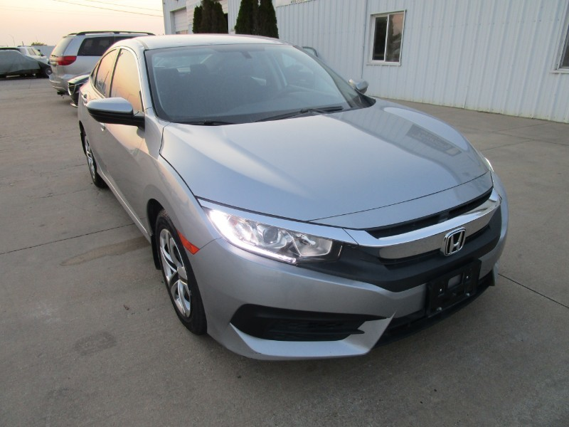 Used 2018 Honda Civic Sedan LX