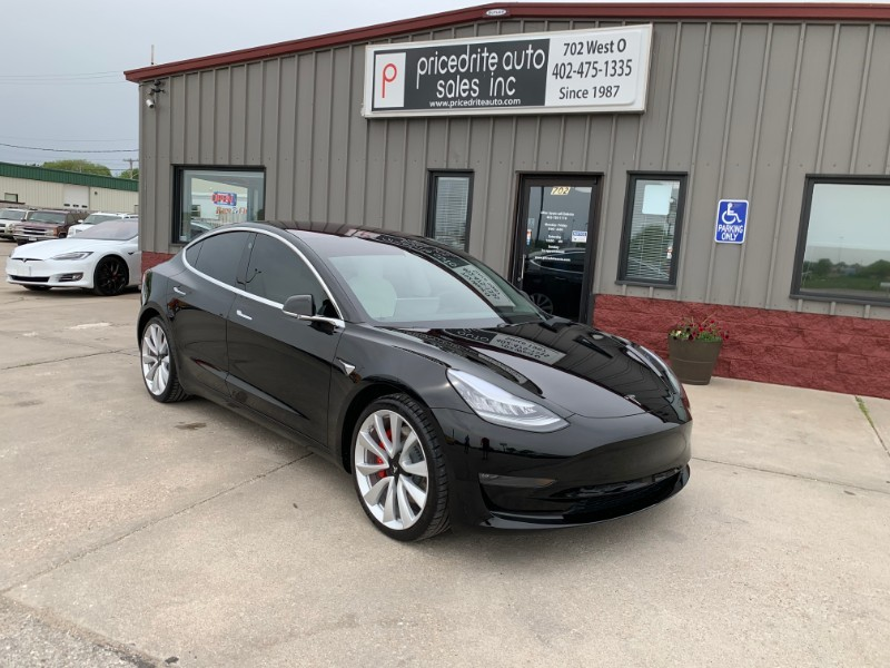 2019 Tesla Model 3 Performance Dual Motor Performance, Active