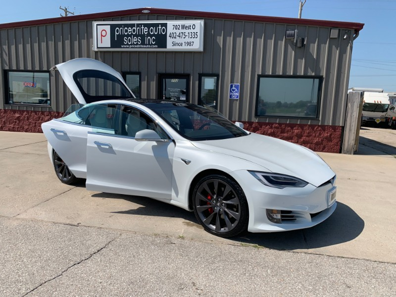 2018 Tesla Model S P100D Ludicrous Speed Pkg,Panoramic Sunroof