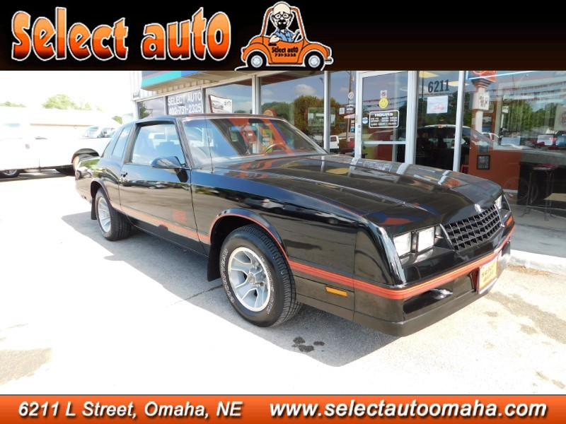 Used 1987 Chevrolet Monte Carlo Sport SS
