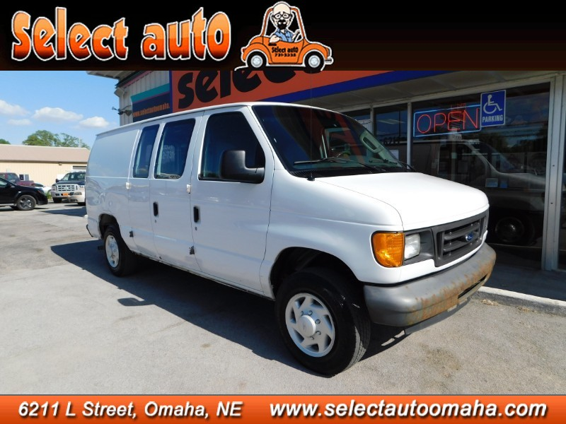 Used 2007 Ford Econoline Cargo Van Commercial